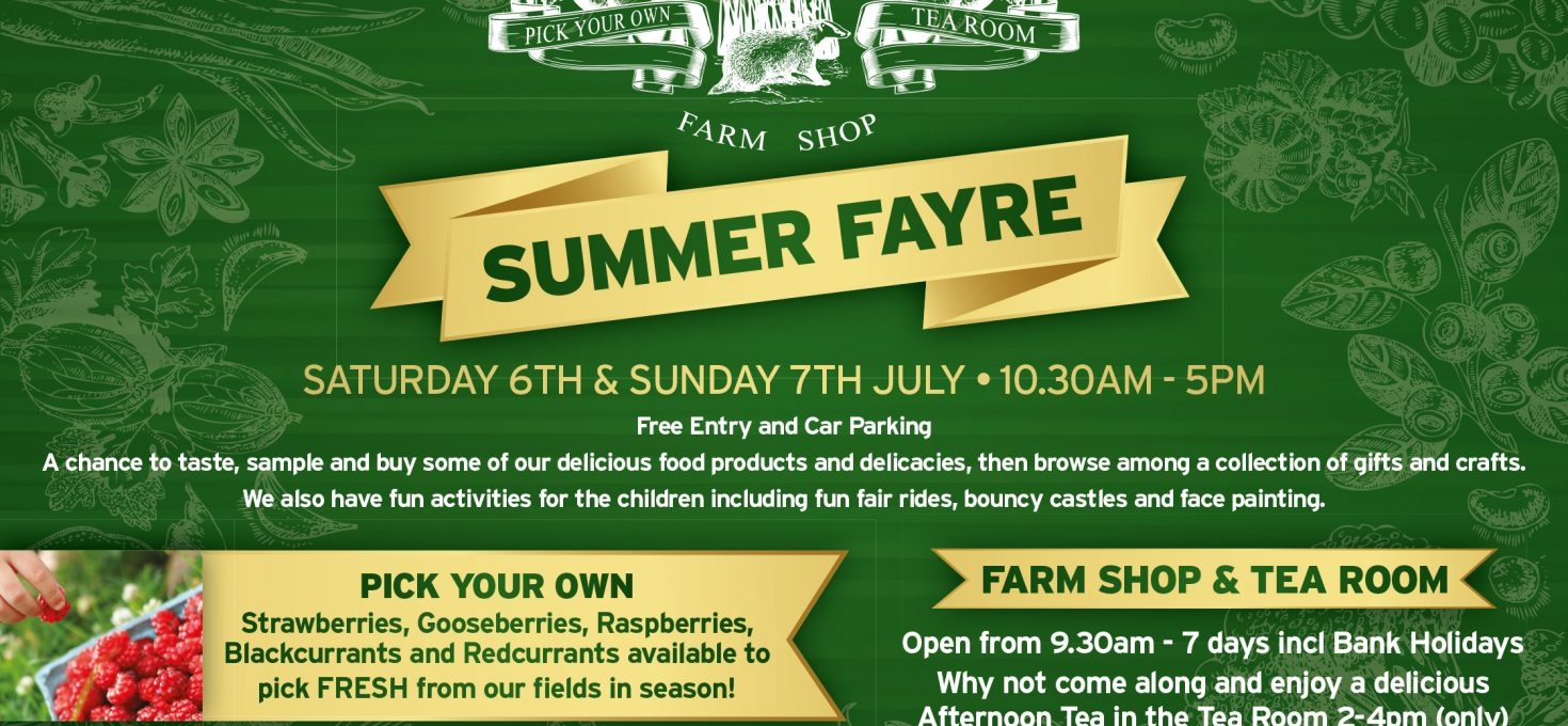 Brocksbushes Summer Fayre