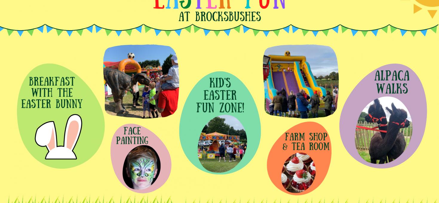 Easter Fun at Brocksbushes
